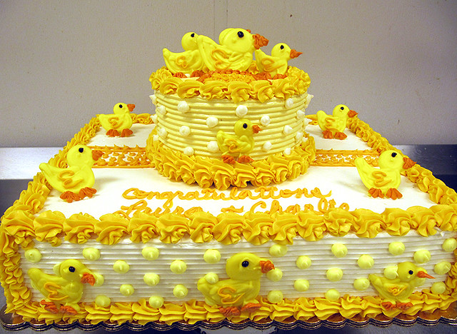 Rubber Duck Baby Shower Cakes http://flickriver.com/photos/tonyalbanesecakes/4958496624/