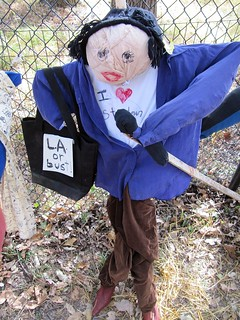 The Goodbye Oprah Scarecrow