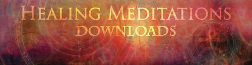 Healing Meditations Purple Banner