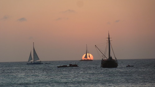Last Sunset in Aruba