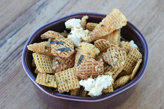 Furikake Chex Mix or Furikake Party Mix