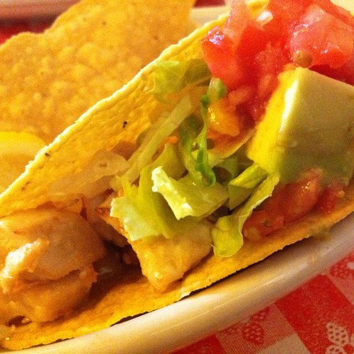 Fish Taco @ Polli's Mexican Restaurant