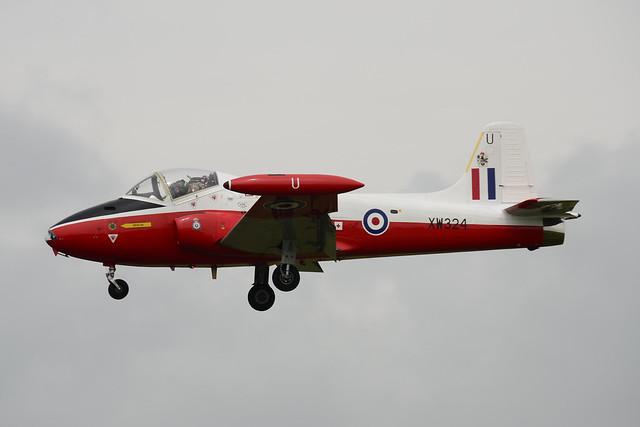XW324/U BAC Jet Provost T.5