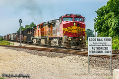 ATSF 642 | GE C44-9W | BNSF Thayer South Subdivision