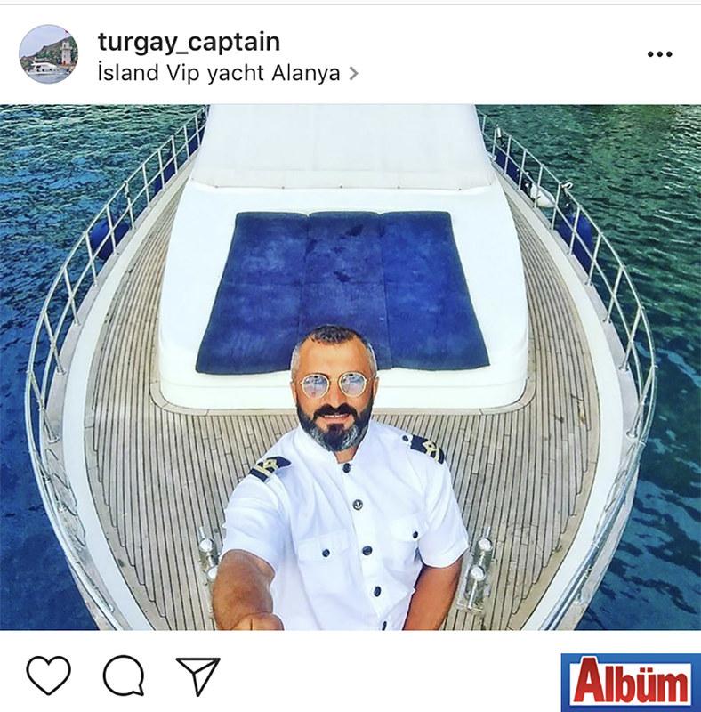 Island Yat'ın sahibi Turgay Meşe, yaptığı özçekim ile takipçilerinin beğenisini topladı.