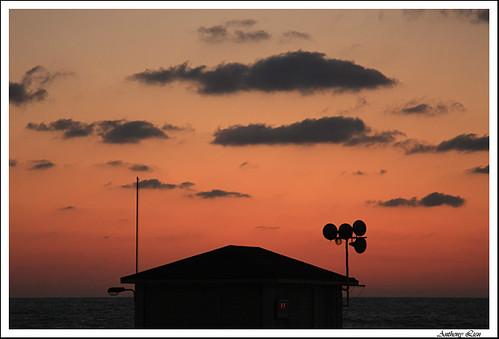 sunset israel telaviv 夕陽 日落 mediterraneansea 以色列 地中海 特拉維夫