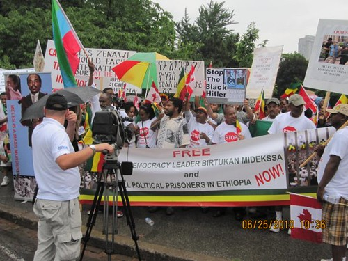 Toronto Protest Against Meles Zenawi at G-20 Summit