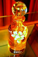 perfume, glass bottle, yellow, distilled beverage, liqueur, bottle, glass, alcoholic beverage,