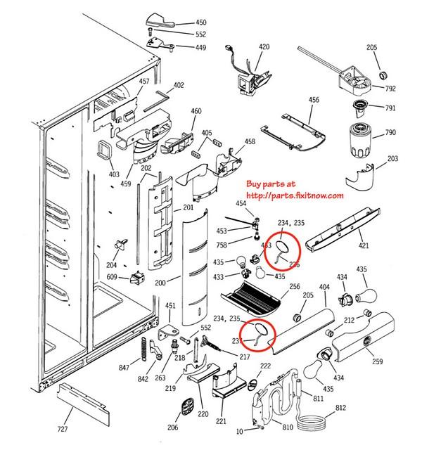 wiring diagrams ge profile refrigerator  u2013 powerking co