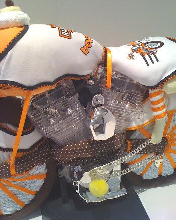 harley davidson motorcycle diaper cake nappy cake harley davidson