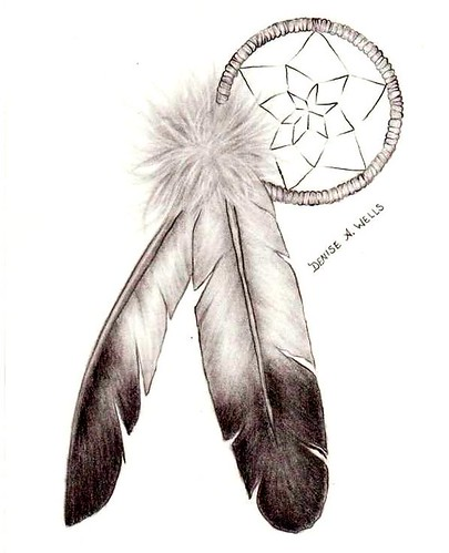 Girly Dreamcatcher Tattoos by Denise A Wells Flickr Photo Sharing