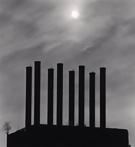 The Rouge, Study 26, Dearborn, by Michael Kenna 1993
