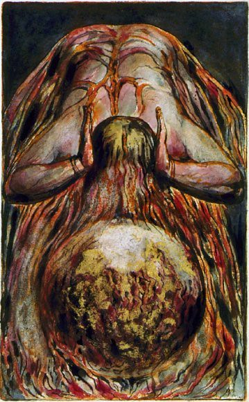 The First Book of Urizen, copy G, by William Blake 1794