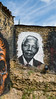Nelson Mandela painted portrait P1040889 by Abode of Chaos