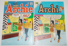Archie comics with Twiggy