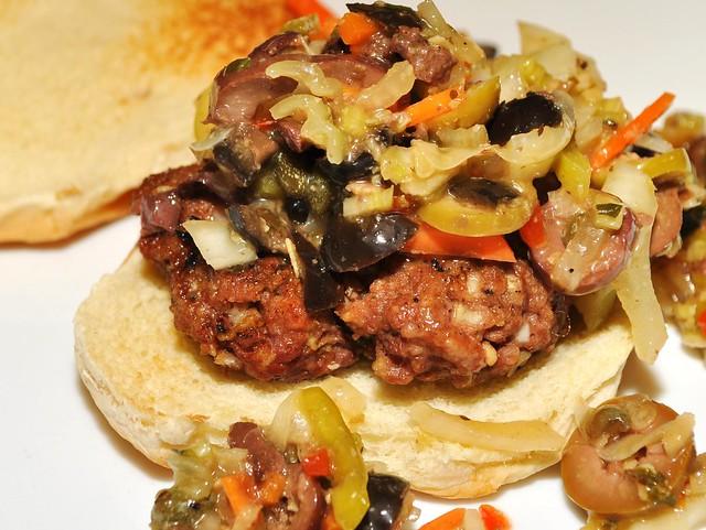 muffaletta burger | whats4dinnersolutions.wordpress.com/2010 ...