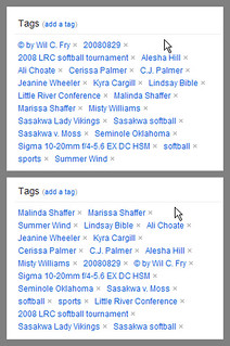 Flickr - alphabetized tags