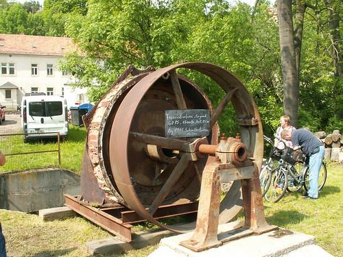 Turbinenrad in Garsebach im Triebischtal