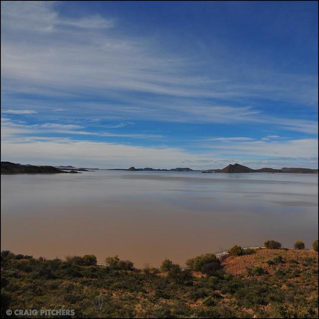 Gariep Dam South Africa Vertorama   Flickr Photo Sharing!