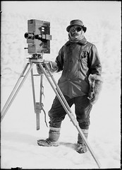 Herbert George Ponting, Antarctica, c.1911, 'This world of ours is a different one to him than it is to the rest of us,' - Captain Robert Falcon Scott