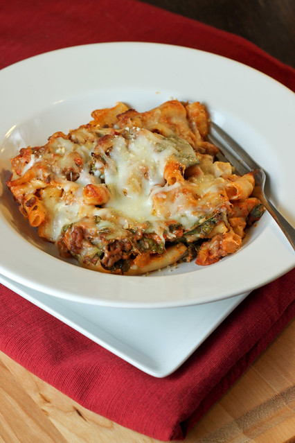 Lasagna-style Baked Ziti | Flickr - Photo Sharing!