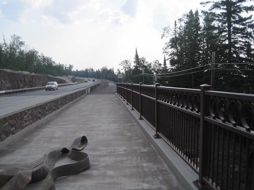 Gitchi Gami Trail - New Onion River Bridge