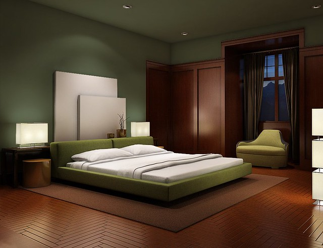 dark green option bedroom flickr photo sharing