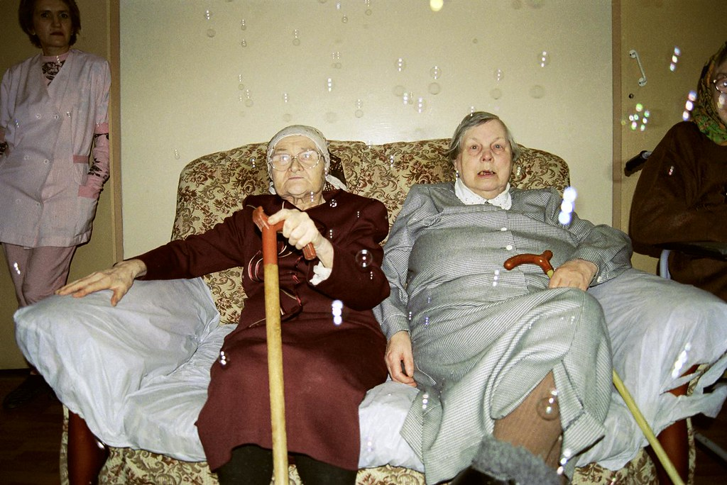 Old Women 1(John Glick/Russia Clown Trip 2004)