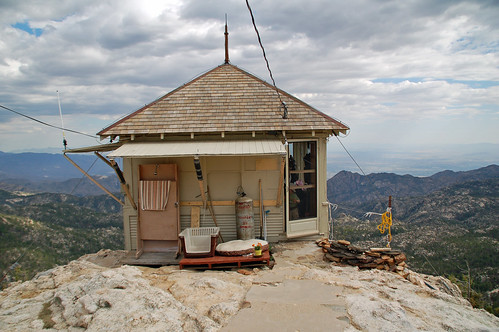 mt lemmon fire lookout