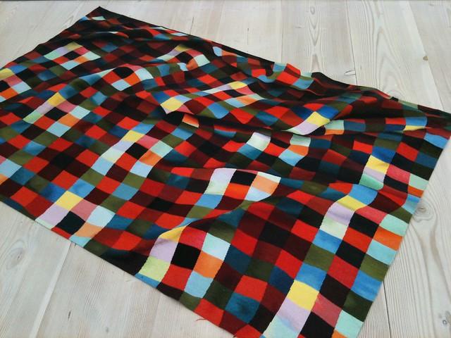 illusion optical rug saatchi flickr