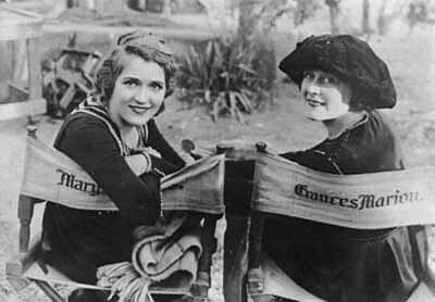 Mary Pickford & Marion Frances