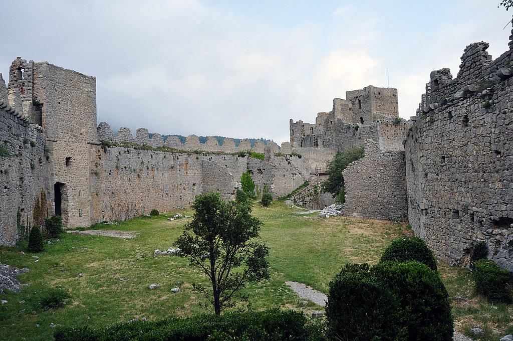 Ciudadela castillo de Peyrepertuse