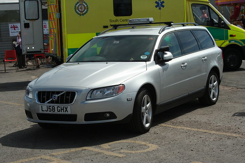 Volvo Officer Response Car