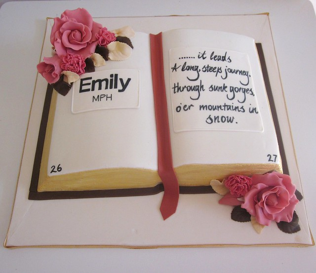 Open Book Cake Images : Graduation book cake. Flickr - Photo Sharing!