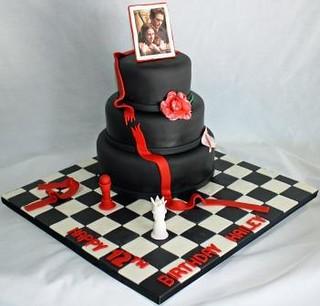The Twilight Saga 12th Birthday Cake