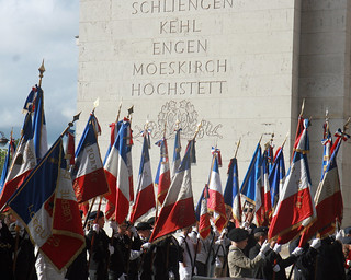 Arc de Triomphe Wreath-Laying Ceremony