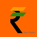 INDIA - NEW RUPEE DESIGN - TRICOLOUR - ORANGE
