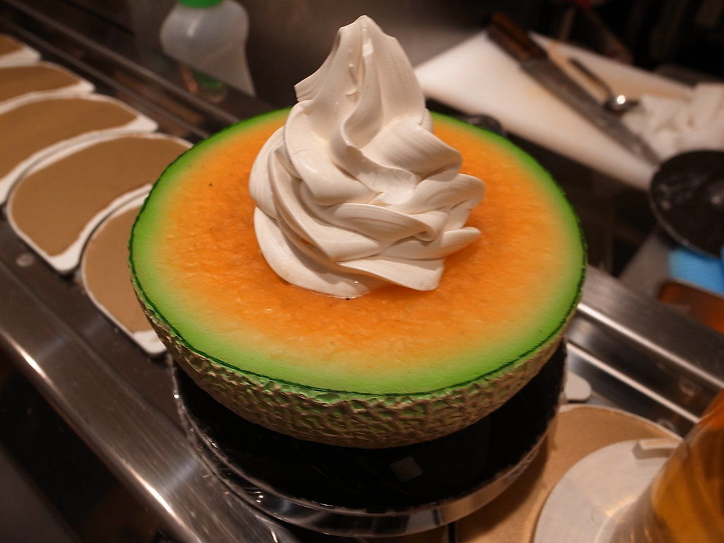 Extreme melon ice cream