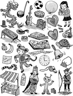 spot illustrations
