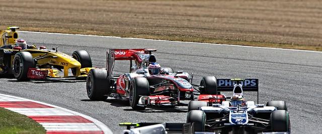 Jenson Button 2010 British Grand Prix