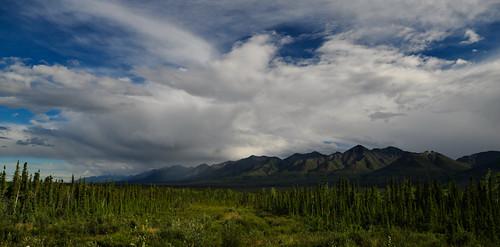 Zona de la montaña en la que no llueve