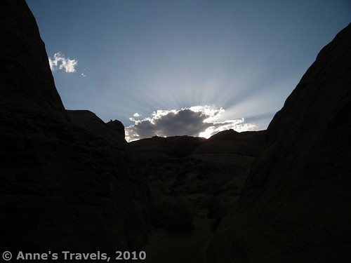 Sunset on the Broken Bow Arch Trail, Grand Staircase-Escalante National Monument, Utah