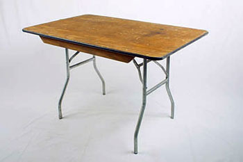 Beautiful 4 FOOT TABLE RENTAL: