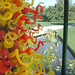 Dale Chihuly-Autumn Gold, Citron and Scarlet Tower with Glass Sprays 2