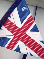 union jack bunting for Katherine