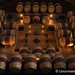 Oak Barrels at Bodega Familia Schroeder Outside Neuquen, Argentina