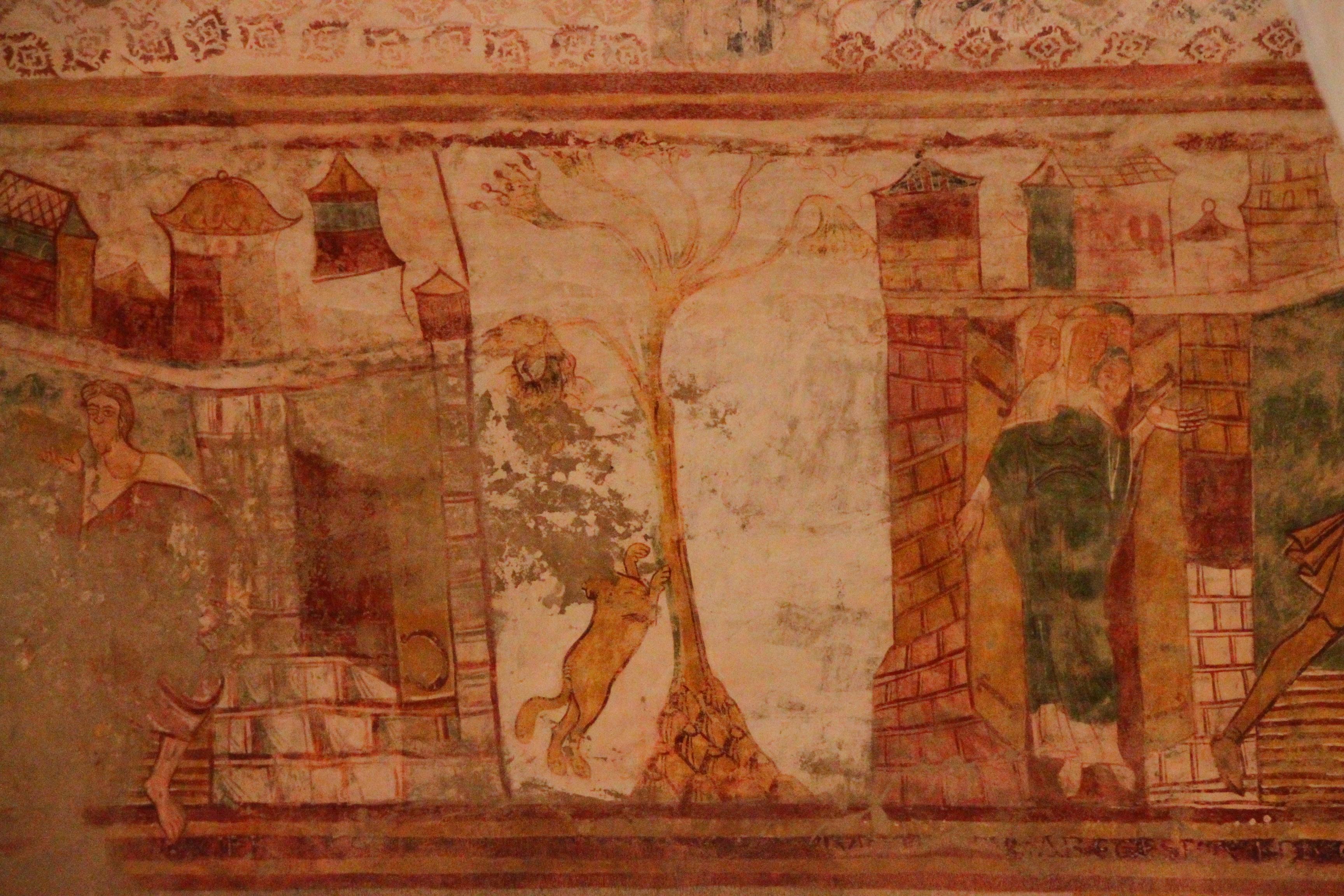 Abbatiale de saint savin sur gartempe flickr photo for Peintures murales