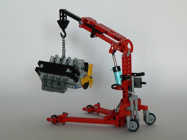 Engine Lifting Crane Flickr Photo Sharing