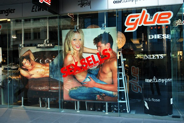 Sex Sells - Glue Jeans QV