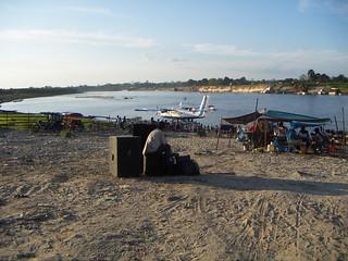 Puerto del río Nanay, Punchana-Iquitos.